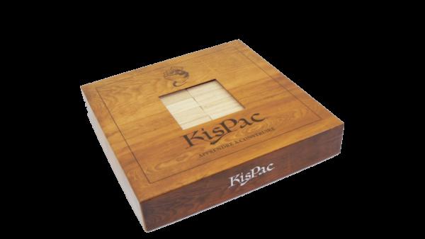 kispac boite naturel kispac planchettes de jeu en bois 200