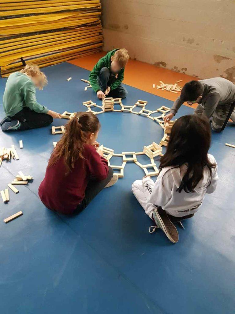 kispac école planchette en bois animation